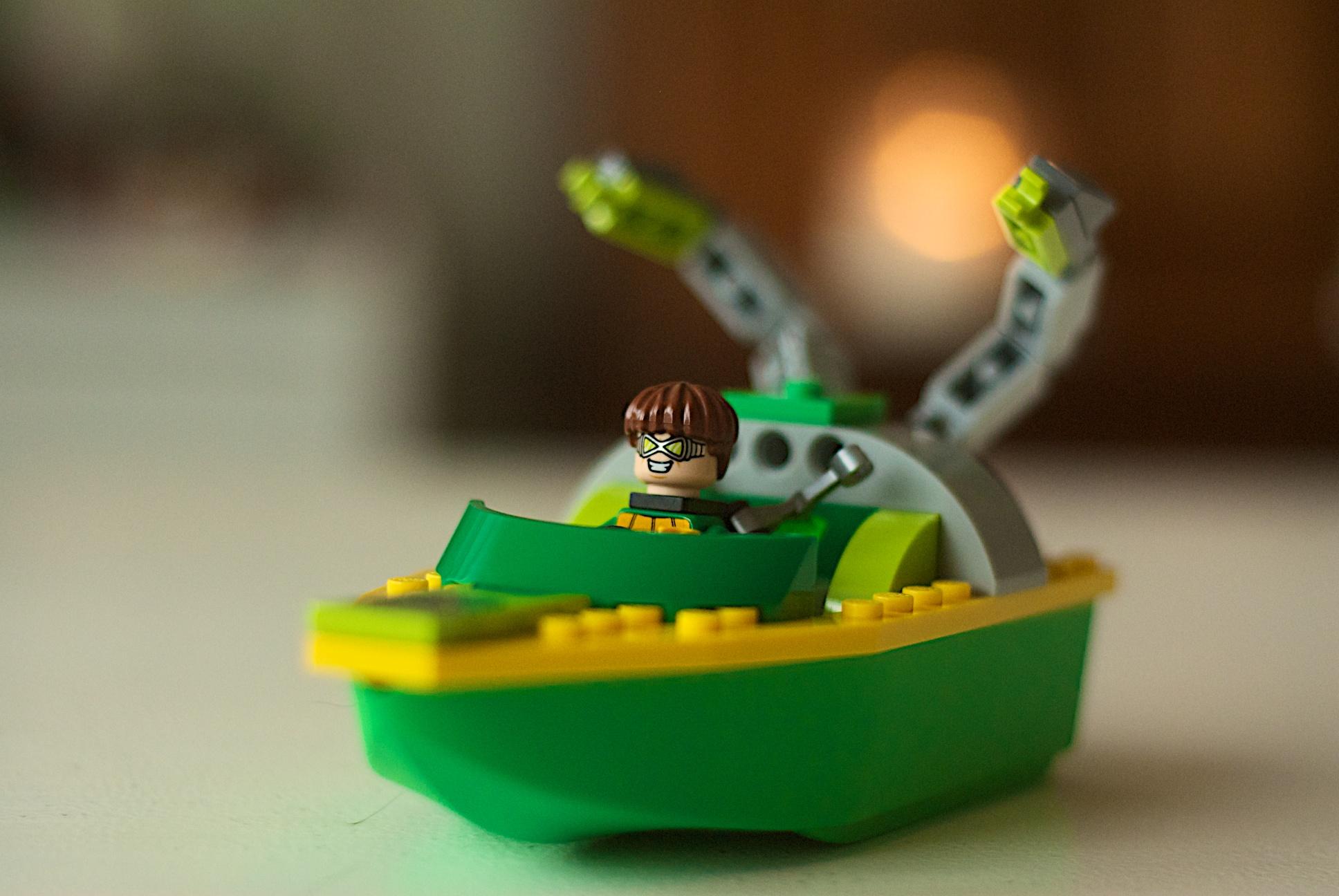 LEGO 76134 Spider Man Spider-Man Doc Ock Diamond Heist 121