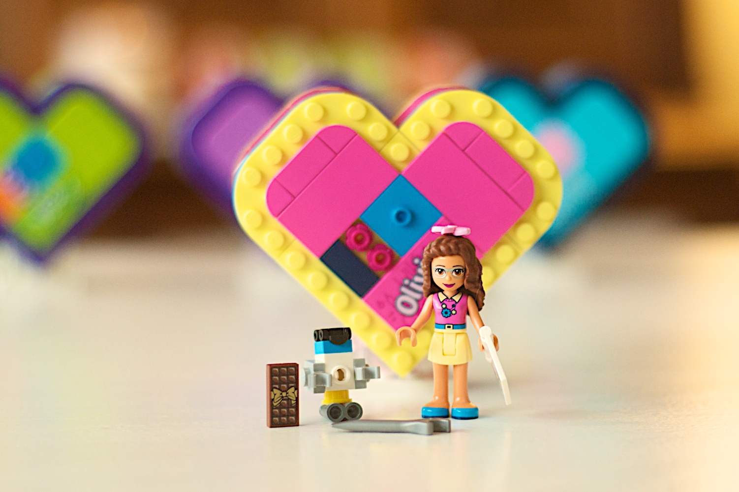 LEGO 41357 Friends Olivia's Heart Box