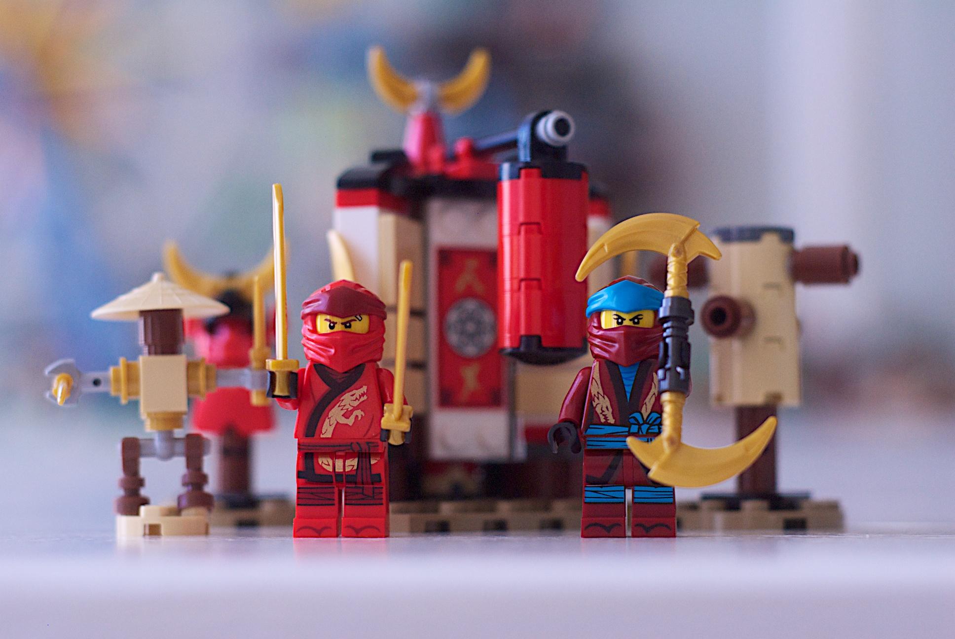 2019 Lego 70680 Ninjago Monastery Training Brick Land