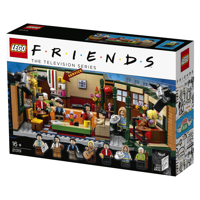 LEGO 21319 Friends Central Perk Box