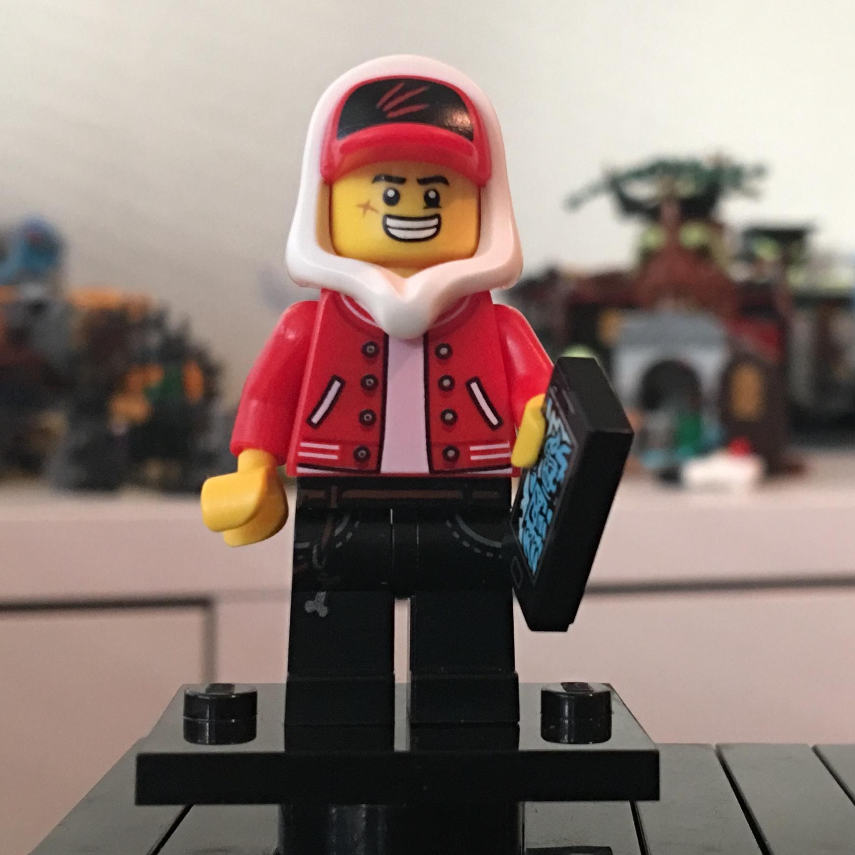 Minifigure NEW Hidden Side Jack Davis Lego hs009