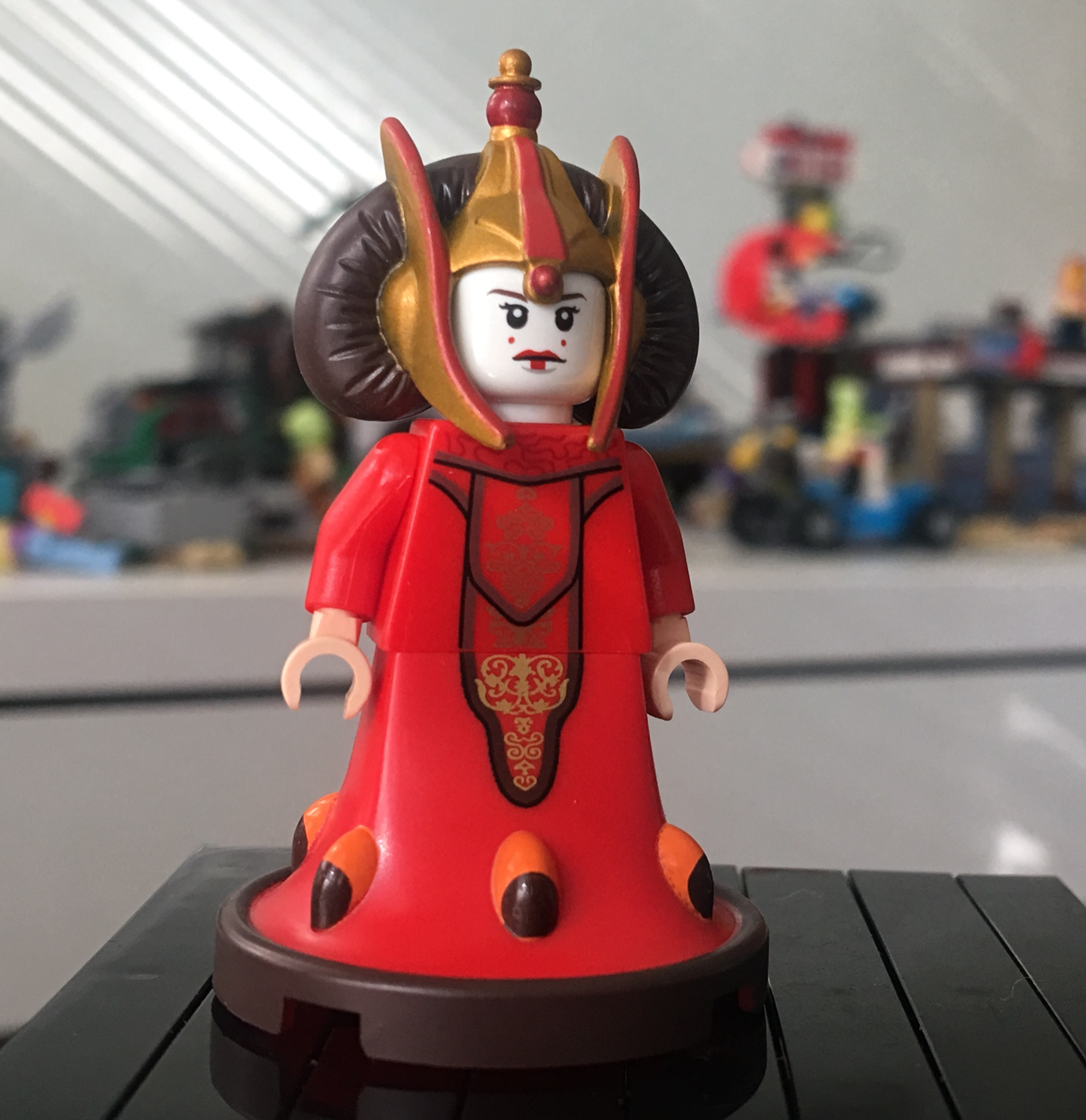 Mini Figure Star Wars Queen Amidala Lego Compatible New Ships from US Sealed