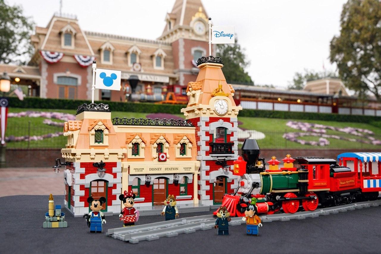 NEW LEGO Disney Train Station