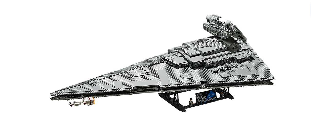 LEGO 75252 Star Wars UCS Imperial Star Destroyer: the Devastator