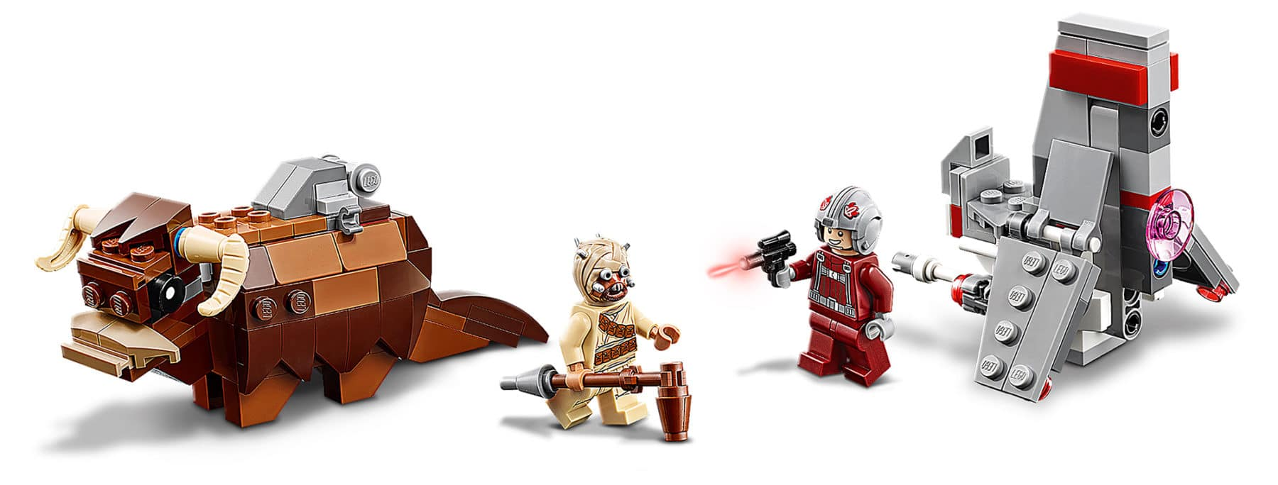 LEGO 75265 Star Wars T-16 Skyhopper Vs. Bantha Microfighter