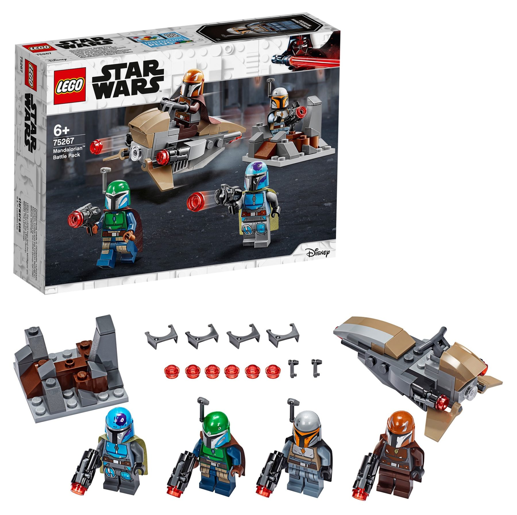 LEGO 75267 Mandalorian Battle Pack Minifigures