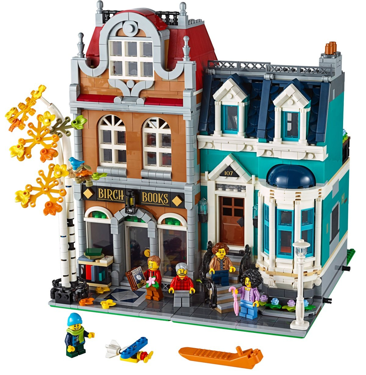 LEGO 10270 Creator Expert Modular Bookshop