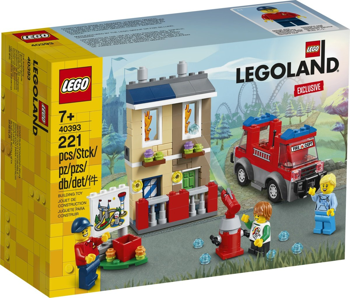 LEGO 40393 LEGOLand Exclusive Box Front