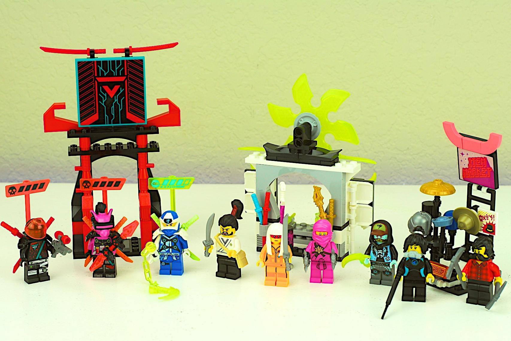 LEGO 71708 Ninjago Gamer's Market