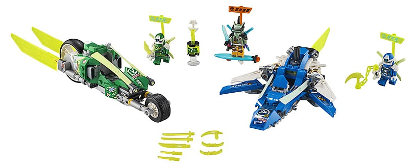 LEGO 71709 Ninjago Jay and Lloyd's Power Car