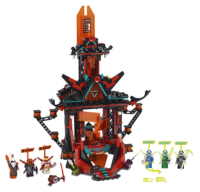 LEGO 71712 Ninjago Temple of Madness
