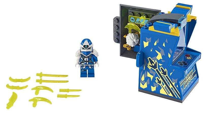 LEGO 71715 Ninjago Avatar Jay - Arcade capsule