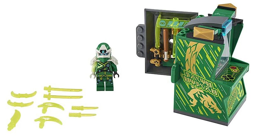 LEGO 71716 Ninjago Avatar Lloyd - Arcade capsule review