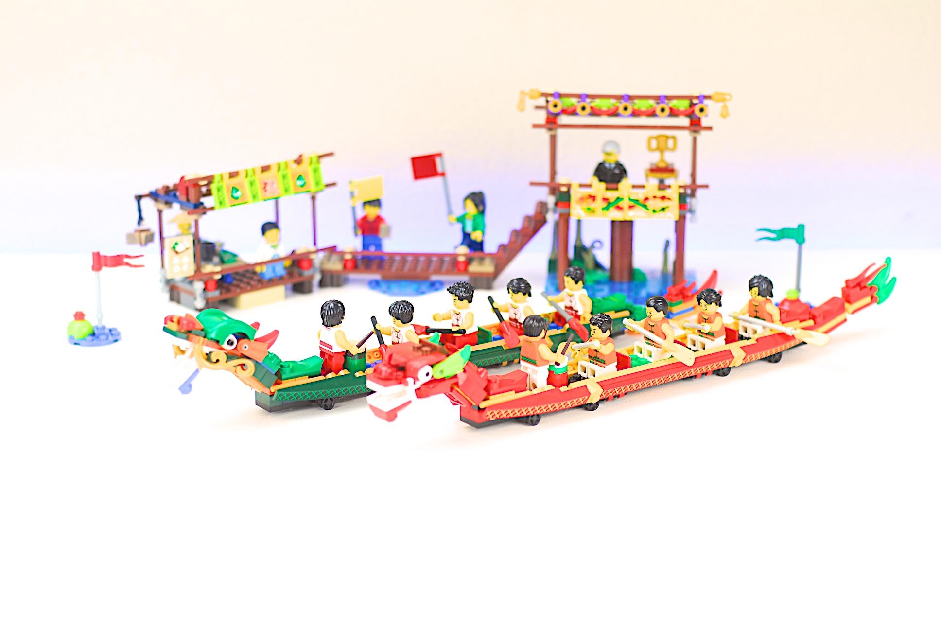LEGO 80103 Dragon Boat Festival
