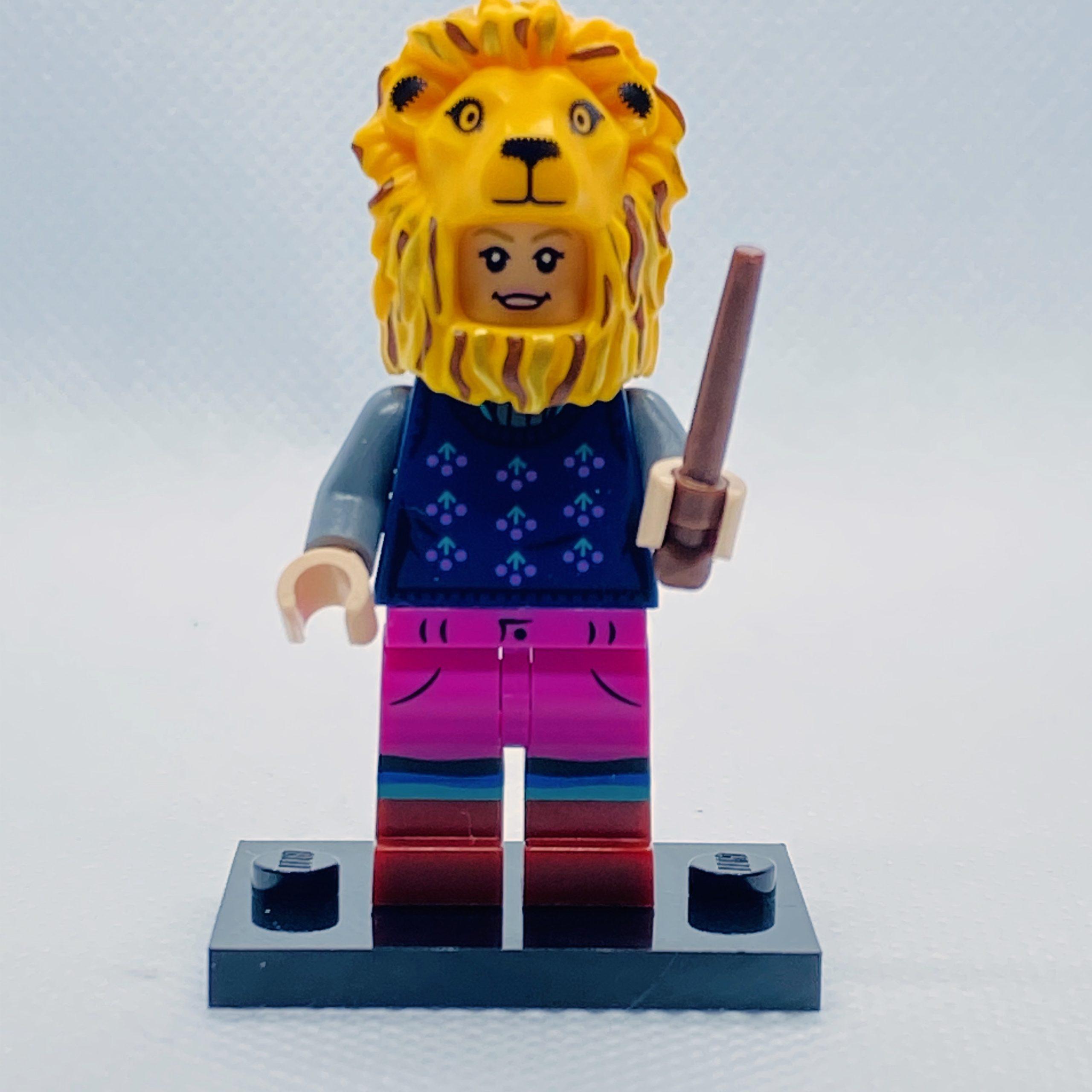 luna lovegood with his hat lion Harry potter minifigure serie 2