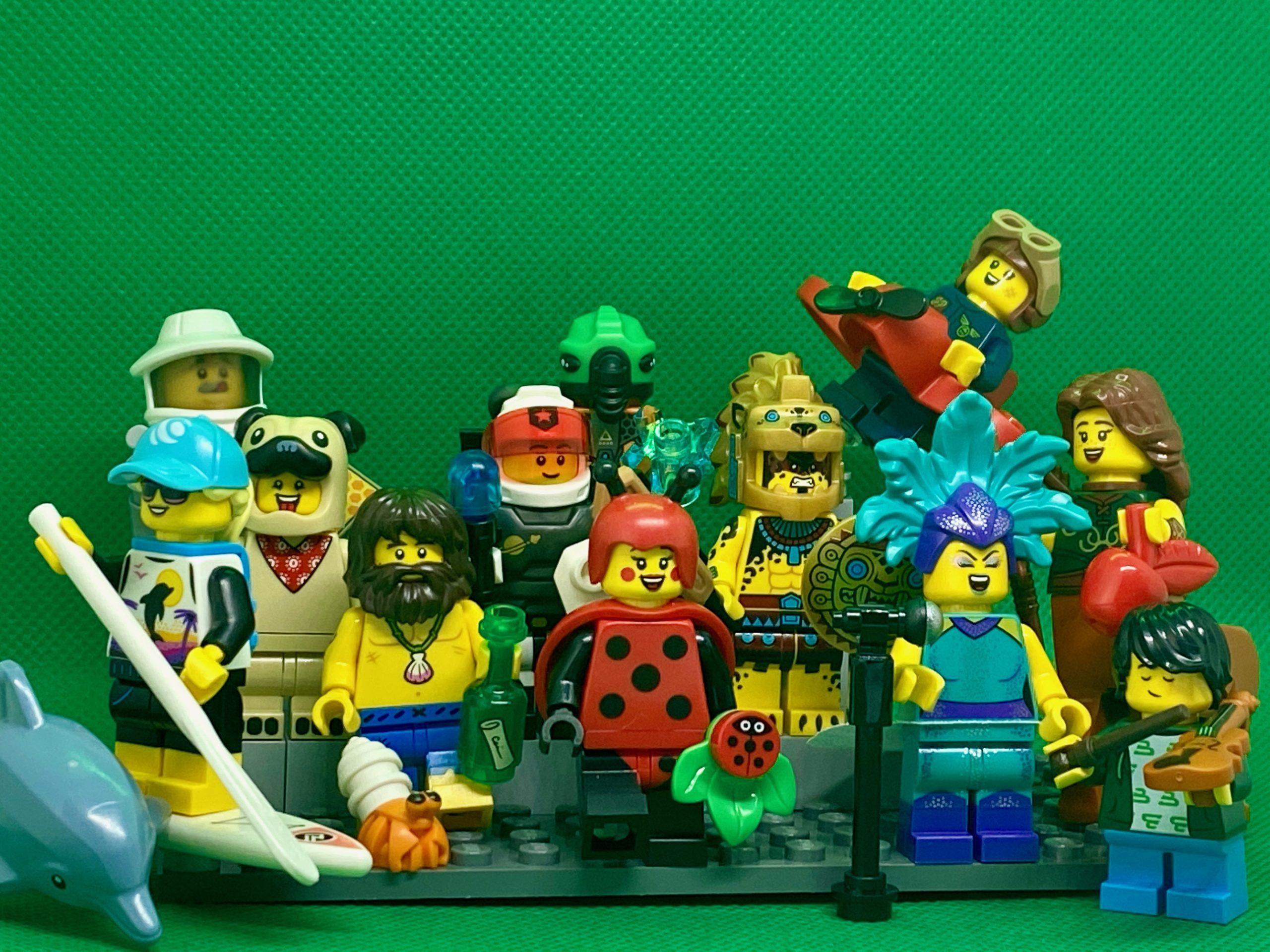 LEGO 71029 CMF Series 21 Minifigures